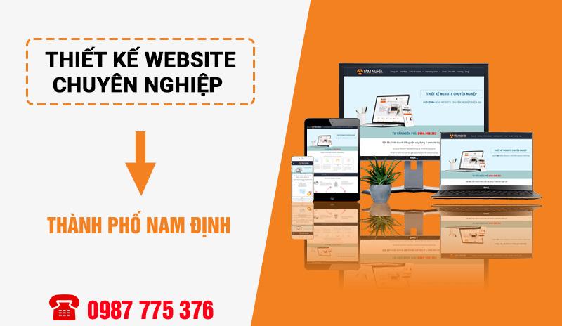 Địa chỉ thiết kế website chuyên nghiệp tại Nam Định