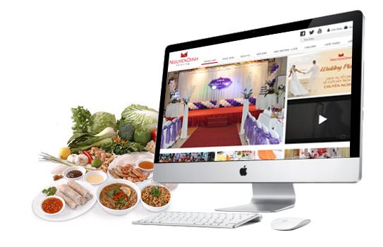 Thiết kế website nhà hàng tại Nam Định
