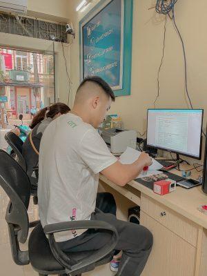 Văn phòng công ty thiết kế webiste tại Nam Định